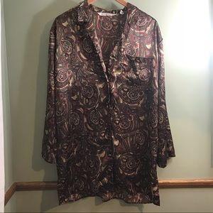 Victoria Secret silk sleep shirt